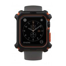 UAG 44mm Series Apple Watch Case - Black/Orange