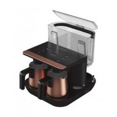 ماكينة القهوة التركية بيكو تيلفي ديو 1050 واط - (TKM8961B) ذهبي وردي\أسود