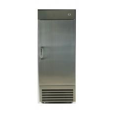 ثلاجة بباب واحد من الفولاذ المقاوم للصدا من وانسا بسعة ٦٨٠ لتر وبطول ٢٤ قدم - (1DFS)