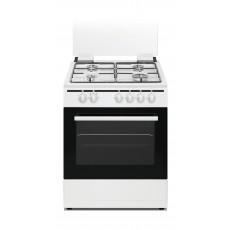 طباخ الغاز القائم من ونسا ٦٠ x ٦٠ سم – ٤ عيون (WCT6400111W)