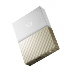Western Digital My Passport Ultra 4TB Portable HDD (WDBFKT0040BGD) - Gold