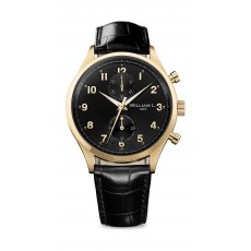 William L Small Chronograph Leather Watch - WLOJ02NROJCN