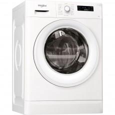 غسالة الملابس ويرلبول تحميل أمامي سعة ٦ كجم مع ١٢ برنامج غسيل (FWF61052W) - أبيض