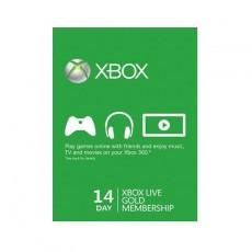 Xbox Live 14-Days Gold Membership Card