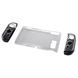 Hama 3-Part Hard Cover For Nintendo Switch - Transparent