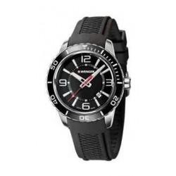 ساعة فينجر رودستر للرجال بعرض تناظري وحزام مطاطي – أسود (01.0851.117)