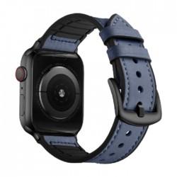 سوار ساعة أبل إي كيو مقاس 42/44 مم (OCT 1004) - أزرق