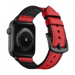 سوار ساعة أبل إي كيو مقاس 42/44 مم (OCT 1004) - أحمر