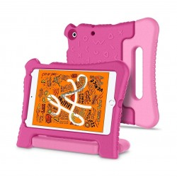 غطاء حماية لأيباد مني 5 للأطفال من سبيجين (051CS26117) - وردي