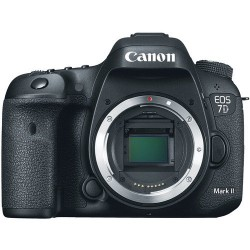 كاميرا كانون ٧ دي مارك ٢ الرقمية إس إل آر - الهيكل  فقط (EOS-7D MARK II)
