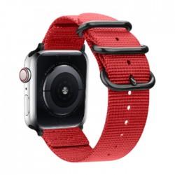 سوار ساعة أبل إي كيو مقاس 42/44 مم (OCT1031) - أحمر