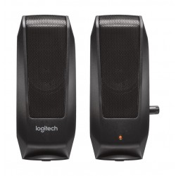 Logitech S120 2.0 Speaker System - Black