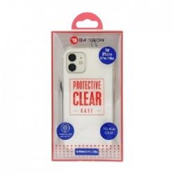 Baykron iPhone 12 | 12 Pro Antibacterial Clear Case