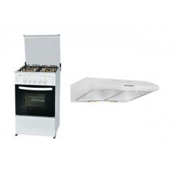 طباخ وانسا ٥٠ × ٥٠ + شفاط روائح المطبخ ٦٠ سم من وانسا