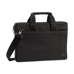 حقيبة لابتوب تحميل علوي ١٣.٣ بوصة من ريفا - أسود - 8221