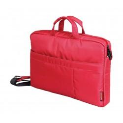 حقيبة الكتف العصرية من بروميت لجهاز اللابتوب بحجم ١٥.٦ بوصة - أحمر