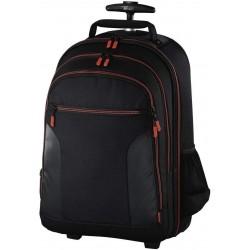 حقيبة الكاميرا ميامي ترولي من هاما - أسود / أحمر (126683)