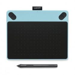 تابلت الرسم واكوم إنتوس آرت مع قلم رسم - (صغير) - أزرق