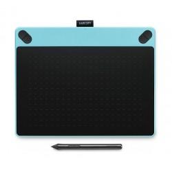 تابلت الرسم واكوم إنتوس آرت مع قلم رسم - (متوسط) - أزرق