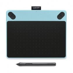 تابلت الرسم واكوم إنتوس درو مع قلم رسم - أزرق