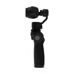 كاميرا أوزمو المحمولة بدقة ٤ كي وانحراف ثلاثي المحاور من دي جاي آي - أسود
