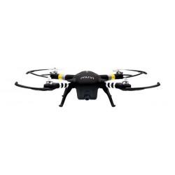 طائرة فيهو موفي إكس كواد كوبتر بكاميرا بدقة ١٦ ميجابكسل للصور و١٠٨٠ بكسل للفيديو – أسود (VXD-001-B)