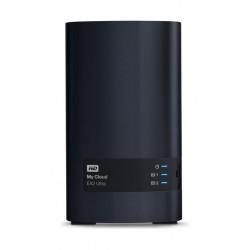 جهاز التخزين السحابي الشخصي ماي كلاود إي إكس ٢ فائق السرعة من ويسترن ديجيتال – سعة ٤ تيرابايت – ٢ قرص صلب (WDBVBZ0040JCH)