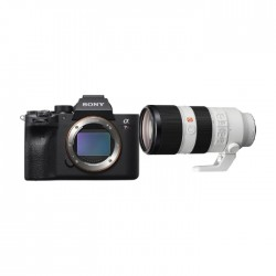 Buy Sony Alpha a7R IV Mirrorless Camera + Sony FE 70-200mm f/2.8 GM OSS E-Mount Lens in Kuwait | Buy Online – Xcite