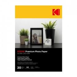 ورق الصور الفوتوغرافية كوداك  A4 لامعة -240 جرام 20 صفحة
