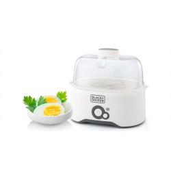 جهاز سلق البيض بقوة ٢٨٠ واط من بلاك آند ديكر – أبيض - (EG200)