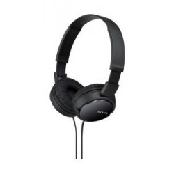 Sony Wired On-Ear Stereo Headphones (MDR-ZX110 ) - Black