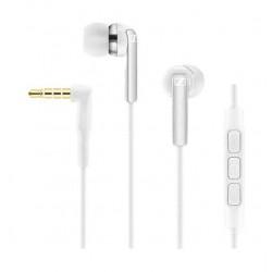 سماعات أذن مع مايكروفون وجهاز تحكم لأجهزة أي أوأس من سينهايزر - أبيضCX 2.00I