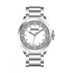 ساعة جوفيال النسائية - سوار معدني