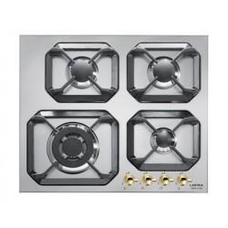 طباخ غاز مسطّح مدمج من لوفرا - ٦٠ سم - ٤ شعلات (HRS6G0)