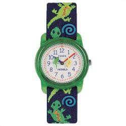 ساعة تايمكس للأطفال - سوار مطاطي و قماش