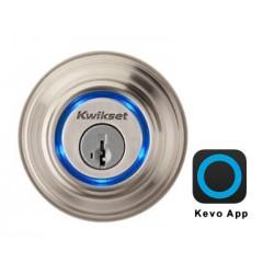 قفل الباب الذكي كيفو من كويكست - رمادي