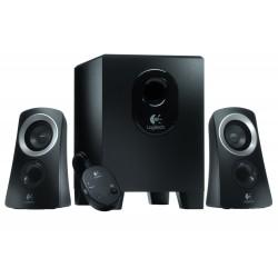 مكبر صوت توزيع ٢.١ بقوة ٢٥ واط من لوجيتك - أسود
