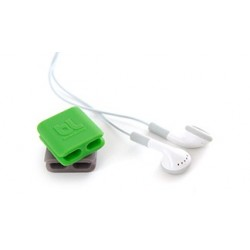 مقطع الكابل من بلولونج - ٣قطعة (صغيرة)- رمادي/أخضر