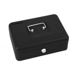 خزنة يدوية شكل صندوق من سيفويل - أسود YFC-30