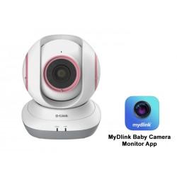 كاميرا فيديو لمراقبة الطفل يمكن تحريكها من دي لينك DCS-855L