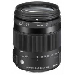 عدسة سيجما ١٨- ٢٠٠ مم – إف ٣.٥ – ٦.٣ -٢ دي سي (أو إس) إتش إس إم – لكاميرات نيكون