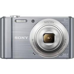 كاميرا سوني سايبر-شوت دي إس سي-دبليو ٨١٠ المدمجة – اللون الفضي