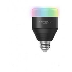 اللمبة الذكية بإضاءة إل إي دي بألوان متعددة من ميباو - بلوتوث - أسود (BTL201)