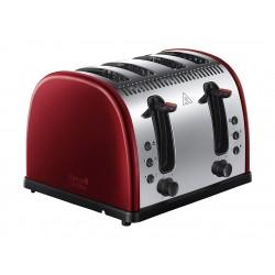 محمصة الخبز روسل هوبس بقوة ٢٤٠٠ واط – ٤ شرائح – أحمر (21301)