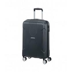 حقيبة سفر صلبة بعجلات من أمريكان تورستر تراك لايت ٧٨ سم (34GX08803)  - رمادي