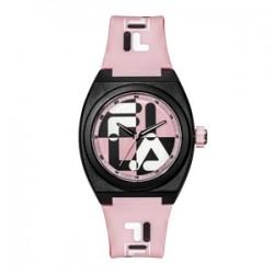 Fila 42mm Ladies Analogue Rubber Fashion Watch (38180106) - Purple