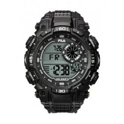 Fila 53mm Gent's Digital Rubber Sports Watch (38826003) - Black