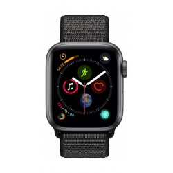 Apple Watch Series 4 40mm, Space Grey Aluminium Case, Black Sport Loop