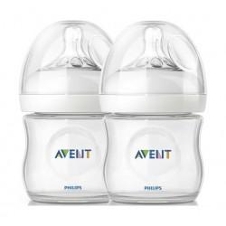 Philips Avent Classic Plus 125ml Baby Bottle 2Pcs - Clear