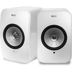 KEF LSX 100W Wireless Bluetooth Music System - White